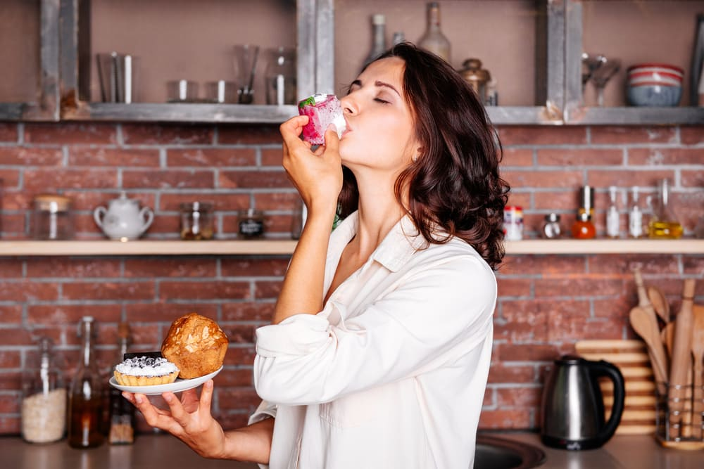 PMS期间食欲增加