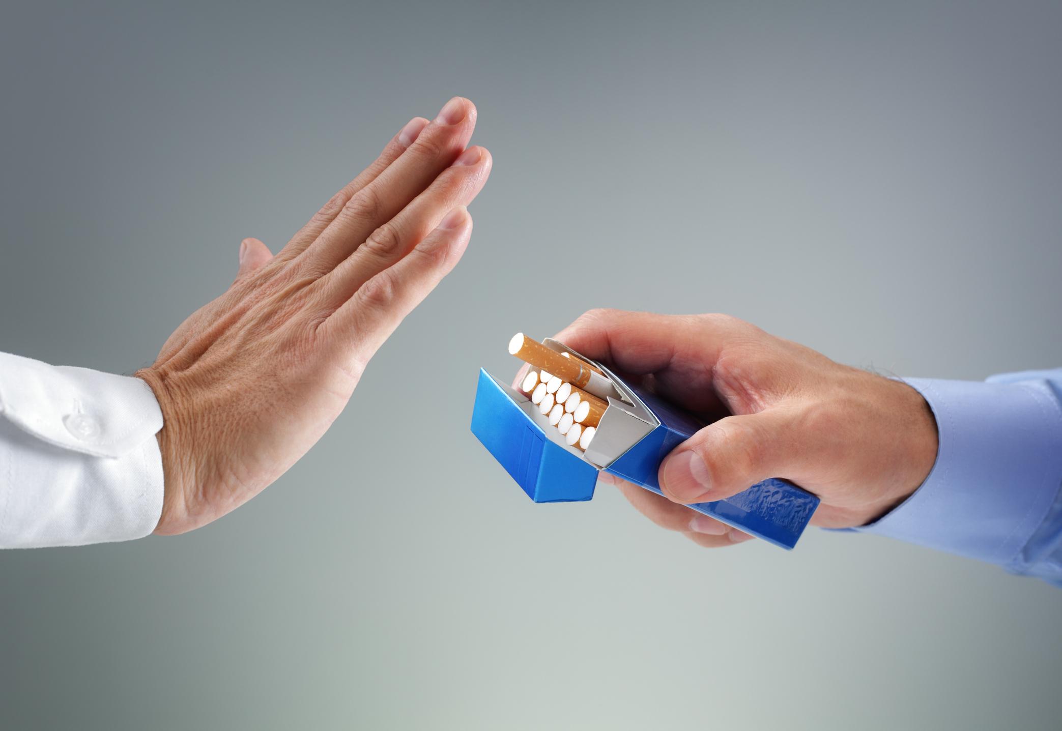 禁食时戒烟的提示